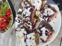 Coconut, lime and blueberrry slice Recipe | Love Food Hate Waste #GF #Dairy Free