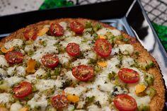Pizza Low Carb de Couve Flor Sem Ovos | Café com Manteiga