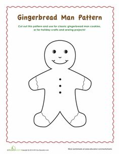 gingerbread man color by number colors gingerbread man and christmas. Black Bedroom Furniture Sets. Home Design Ideas