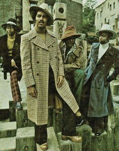 The way we dress back n the day!