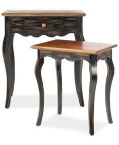 Safavieh Eleanor Set of 2 Nesting Tables, Direct Ships for just $9.95