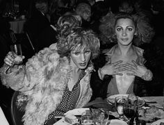With Jackie Curtis at the premiere of Jesus Christ Superstar in 1971 Holly Woodlawn, Joe Dallesandro, Candy Darling, Transgender Mtf, Jesus Christ Superstar, Genderqueer, Picture Collection, Glam Rock, Black And White