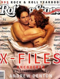 Mulder and Scully - X-files