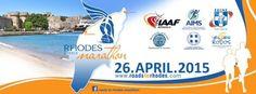 Μαραθώνιος Ρόδου 2015 - 26 Απριλίου   Ρόδος - Roads to Rhodes Marathon - Running Magazine Marathon, Rhodes, Marathons