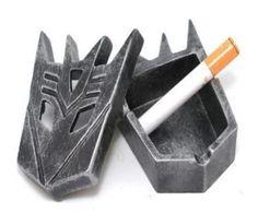 Transformer-shaped ashtray design