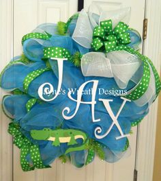 Baby wreath for Hospital door and baby's room