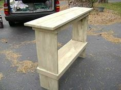 potting bench from pallets!