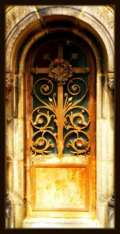 Mausoleum door, Paris