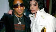 Lenny Kravitz y Michael Jackson