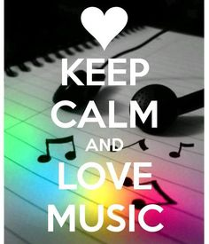 KEEP CALM AND LOVE MUSIC. Another original poster design created with the Keep Calm-o-matic. Buy this design or create your own original Keep Calm design now. Frases Keep Calm, Keep Calm Quotes, Keep Calm Bilder, Affiches Keep Calm, Keep Calm Wallpaper, Keep Calm Pictures, Keep Clam, Keep Calm Signs, Inspirational Quotes