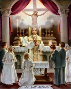 Third Sacrament is the Eucharist/First Holy Communion #Catholic