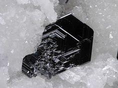 Polybasite-Tac - Clara Mine, Rankach valley, Oberwolfach, Wolfach, Black Forest, Baden-Württemberg, Germany FOV : 5 mm