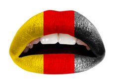 The German Flag Lip Applique...9.99