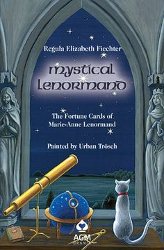 Mystical Lenormand Book  Written as a companion to the popular Mystical Lenormand deck, this illustrated book provides descriptions and interpretations of each card individually and in combination with other cards. It is ideal as a beginner's guide to the Lenormand system of divination but also helps readers deepen their intuitive skills with any Lenormand deck.