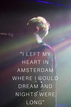 -Amsterdam, Nothing But Thieves