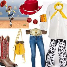 Adorable cowgirl #outfit for the #Cartoon Character #fashion challenge. Can you guess the inspiration?