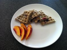 Protein Waffle Recipe:  5-6 Egg whites  40-80g Oats  Handful of Blueberries/Raspberries/Banana (Optional)  Stevia  Honey   20g Whey (Optional)  Cinnamon (Optional)    Blend Ingredients Together And Cook In a Waffle Maker or as pancakes in Coconut Oil On a Hot Non-stick Pan. Turn after about 2 Minutes. Fast & Simple Meal But Great Tasting And Nutritious!!