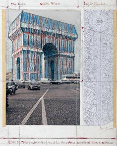 Official website of artists Christo and Jeanne-Claude. Features photographs and texts about completed projects and works in progress. Nocturne, Photomontage, Christo Et Jeanne Claude, Centre Pompidou Paris, Unknown Soldier, 2017 Photos, Land Art, Virtual Tour, Les Oeuvres