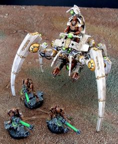 Wargaming and Warhammer Forums, Articles and Gallery Warhammer 40k Necrons, Warhammer Terrain, Warhammer Models, Warhammer 40k Miniatures, Paint Schemes, Colour Schemes, Sci Fi Models, Alien Concept Art, Tyranids