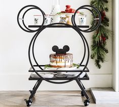 "Disney Mickey Mouse 30.5"" Kitchen Cart 