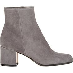 Gianvito Rossi Women's Side-Zip Ankle Boots
