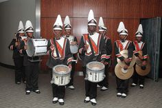Muskegon Heights High School Marching Band at Drumline LIVE