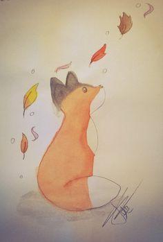 Little fox by Latruffe