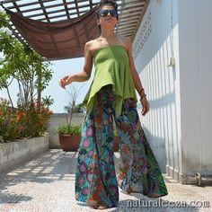 asian hippie bottoms  #naturaleeza #fashion #hippiefashion