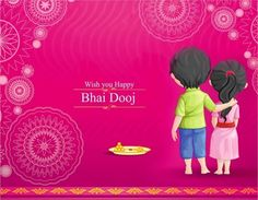 Wishing you a happy & blessed Bhai Dooj!