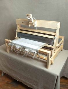 """25"""" Table Loom, 4 Shaft"""