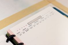 """5.5"""" by 8.5"""" week, day and month planner templates by Ahhh Design #diyplanner #discbound"""