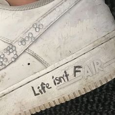 Misfashioned Sneakers on Life isnt fair
