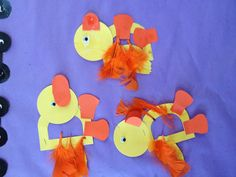 """D"" ducky yellow pre-k craft"