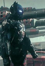 Arkham Knight Armor GIF