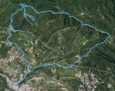Ruta en BTT per les Gavarres sortint des de Girona