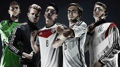 #1 Manuel Neuer, #9 Andre Schurrle, #8 Mesut Ozil, #16 Philipp Lahm, #7 Bastian…