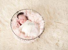 """Boa Basket Filler, """"Pink Cloud"""" Basket Stuffer,  textured bucket filler,  Newborn Photography Props"""