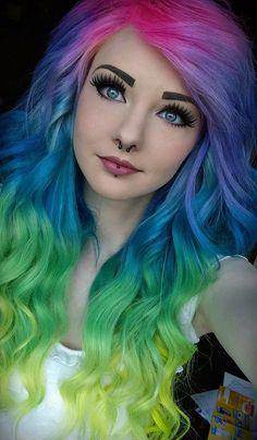 This hair looks pretty cool