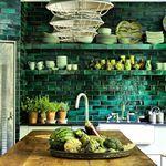 "55 Likes, 10 Comments - Milagros (@milagros_london) on Instagram: ""ELLE Decoration April 2017 Milagros tiles 🌴…"""