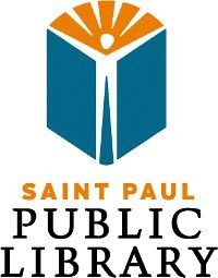 Saint Paul Public Library logo Library Logo, Friends Of The Library, Library Images, Logo Design, Logos, Kids, Walkway, Public, Trends