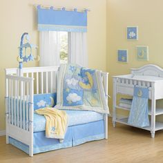Laugh, Giggle  Smile Wish I May Quintessential Cotton quilted 10 Piece Crib Bedding Set | Wayfair