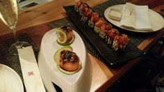 Fusion sushi rolls @IKIBANA in Barcelona