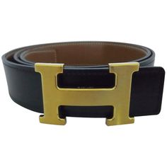 Hermes - Hermes H Belt  liked on Polyvore