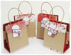 Franz-Blog: Tea Time - quasi un Tutorial - gift bag for tea bags