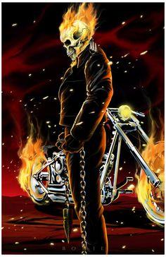 Ghost Rider - Damon Bowie