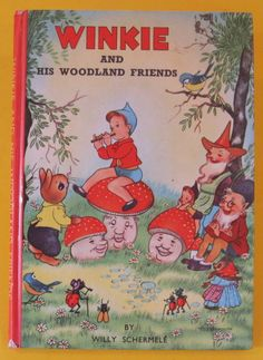 ''Winkie and His Woodland Friends'' by Willy Schermele | eBay