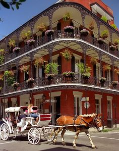 "New Orleans - French Quarter ""Miltenberger House"""