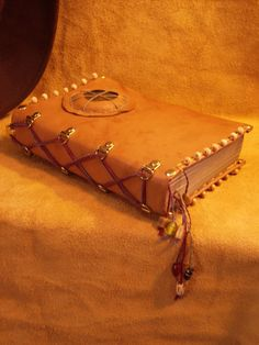 Leather bound book 2 by ~LiamtheLeatherman on deviantART