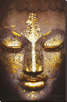 Buddha Stretched Canvas Print - AllPosters.co.uk