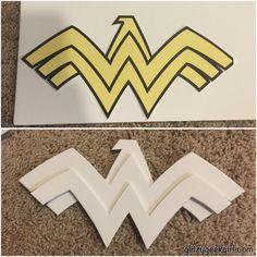 OMGLITZY: Tutorial: Wonder Woman Cosplay Costume